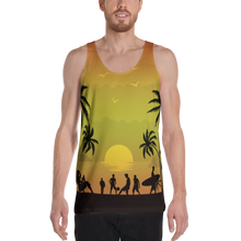 ABlyth Unisex Tank Top, Summer Series: Pacific Sunset