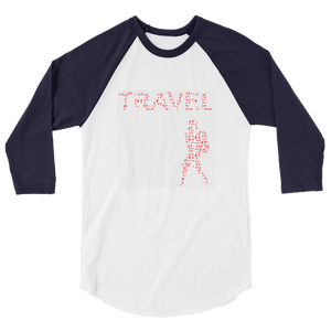 ABlyth 3/4 sleeve raglan shirt, Travel Asia Series: Backpack