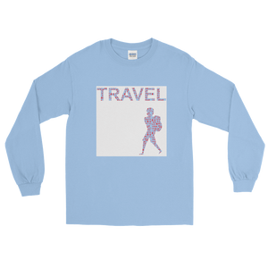 ABlyth Long Sleeve T-Shirt, Travel Asia Series: Backpack
