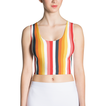 ABlyth Women's Crop Top, Original Series: Sayit in Stripes