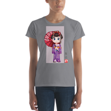 ABlyth Women's short sleeve t-shirt, Fun Series: Maiko 01