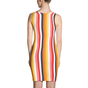 ABlyth Sublimation Dress, Original Series: Sayit in Stripes