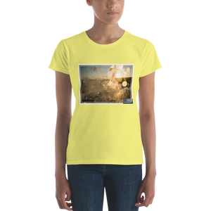 ABlyth Women's short sleeve t-shirt, Summer Series: Surf