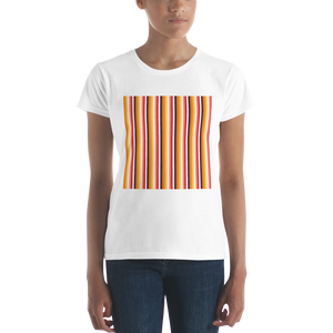 ABlyth Women's short sleeve t-shirt, Original Series: Sayit in Stripes