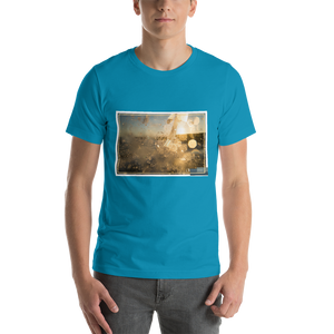 ABlyth Light Short-Sleeve Unisex T-Shirt, Summer Series: Surf