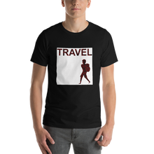 ABlyth Short-Sleeve Unisex T-Shirt, Travel Asia Series: Backpack