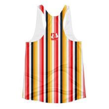 ABlyth Women's Racerback Tank, Orginal Series: Sayit in Stripes