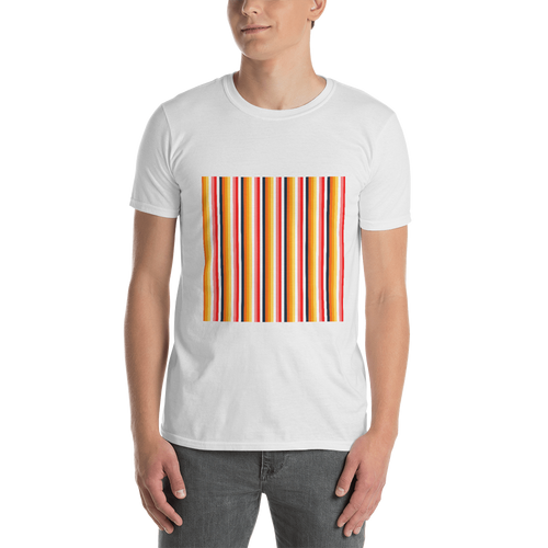 ABlyth Short-Sleeve Unisex T-Shirt, Original Series: Sayit in Stripes