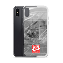 ABlyth iPhone Case: Poem of a Cacophanous City, Wheels (with logo)