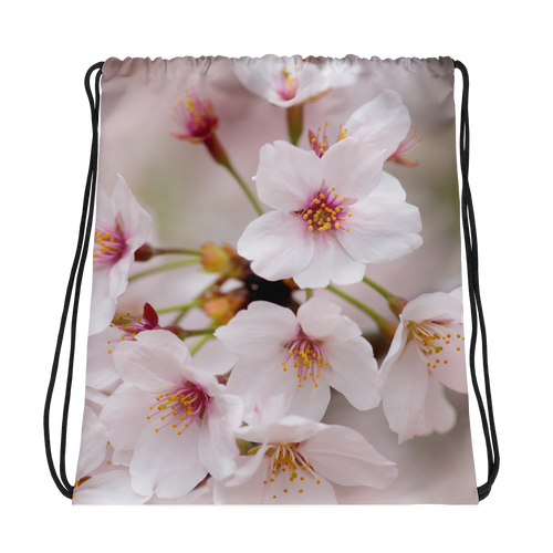 ABlyth Drawstring bag, Travel Japan Series: Sakura