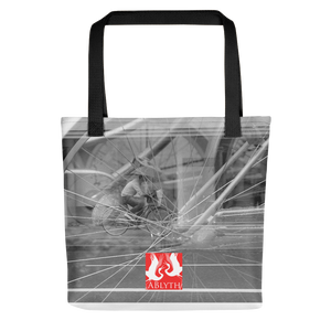 ABlyth Tote bag: Poem of a Cacophanous City (with logo)