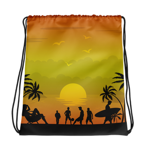 ABlyth Drawstring bag, Summer Series: Pacific Sunset
