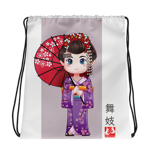 ABlyth Girl's Drawstring bag, Kid's Series: Maiko  01