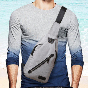 Men's Unisex Canvas Shoulder Bag for Commuting & Day Travel #6M
