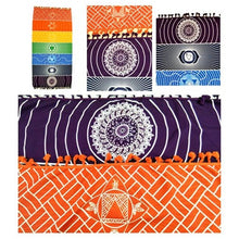Rainbow Beach Towel / Yoga Mat