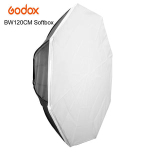 Godox 120cm Octagon Flash Speedlite Studio Photo Light Soft Box / Umbrella Softbox with Bowens mount