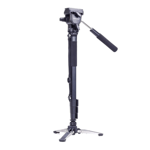 Yunteng 288 Camera Monopod + Fluid Pan Head + Unipod Holder For Canon Nikon DSLR