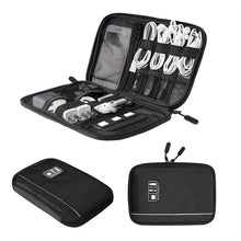 BAGSMART Electronic Accessories Organizers For SD Cards, Smart Phone Cables, Earphones, USB Cables