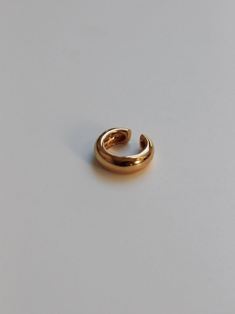 Jupiter ear cuff in gold