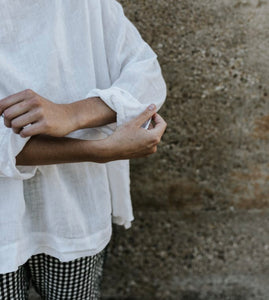 Boxy Sailor Top By Metta Melbourne