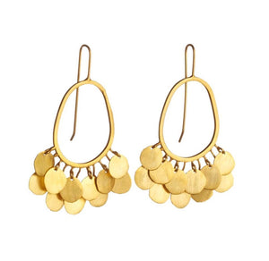 SHEA large Boho hoops earrings