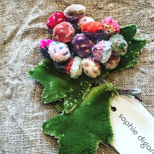 BERRIES Brooch by Sophie Digard
