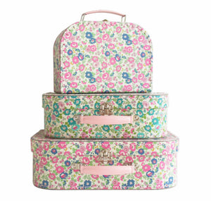 Alimrose Petit Floral suitcase set of 3
