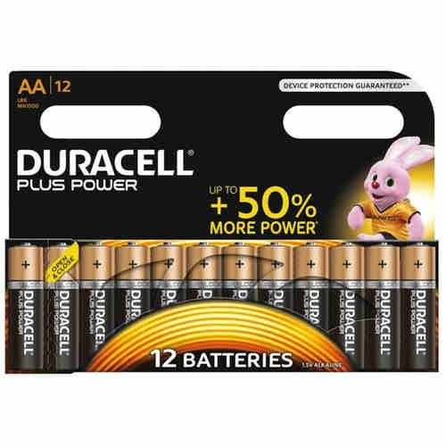 DURACELL AA PLUS POWER S/12