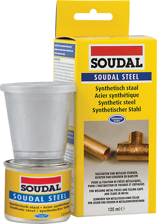 SOUDAL STEEL--125ML