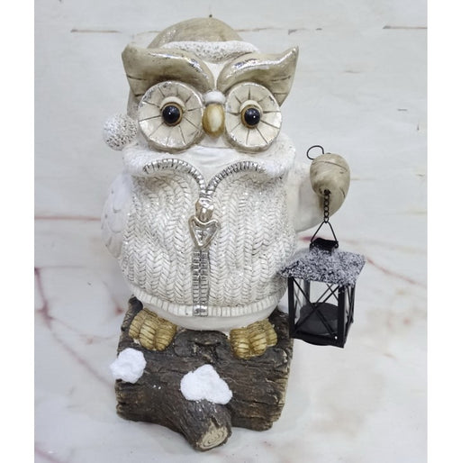 Owl With Light Mgo-battery-light-26x21x43