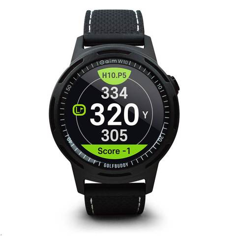 GolfBuddy Aim 10 Golf GPS and Smart Watch