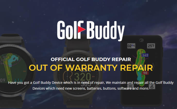 Golf Buddy Unit Repair Fee