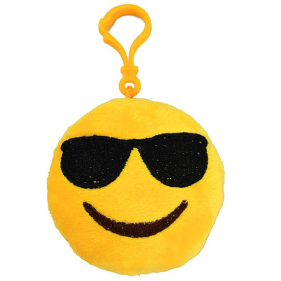 Cool Sunglasses Mini Emoji Key Chain