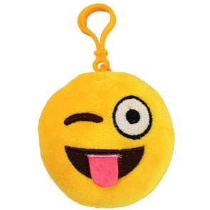 Lovely Wink Plush Soft Key Ring