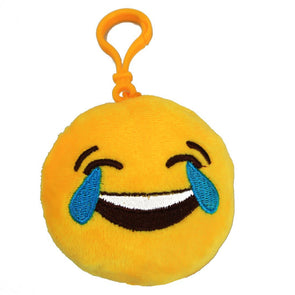 Laughing With Tears Mini Emoji Key Chain