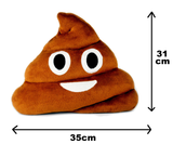 Poop Shaped Round Cushion