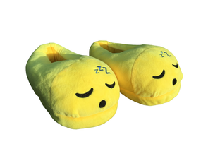 Sleeping Emoticon Indoor Slippers