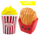 Popcorn and Fries Pack Squishes