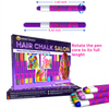 Desire Deluxe Girls Gifts Hair Chalk Gift for Girls – 10 Temporary Non-Toxic Easy Washable Hair Dye Colourful Pens – Great Games Birthday Christmas Present Kids Toy Age 3 4 5 6 7 8 9 10 Year Old