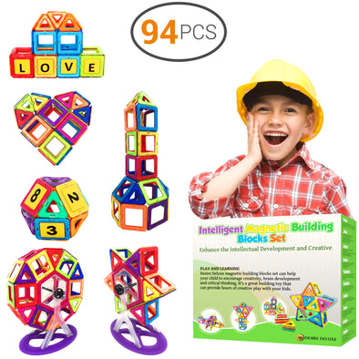 Educational Magnetic Construction Blocks For Children