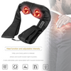 Shiatsu Back Neck Massager Muscle Relaxant Shoulder Massage U Machine with Heat Deep Warm Kneading