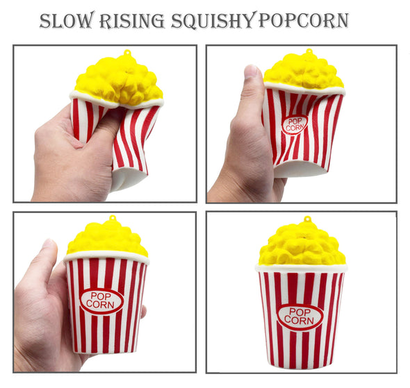Popcorn, Milk, Pineapple Squishes Pack