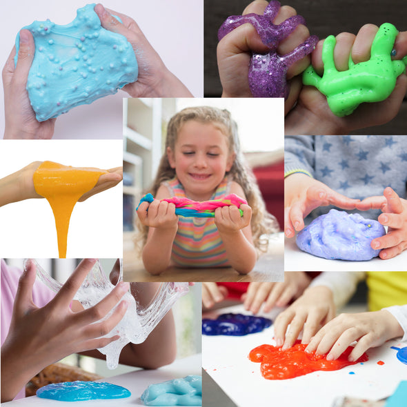 Slime Making Kit DIY Factory Complete Games Set Toys Science for Kids Age 4 5 6 7 8 9 Year Slime Lab