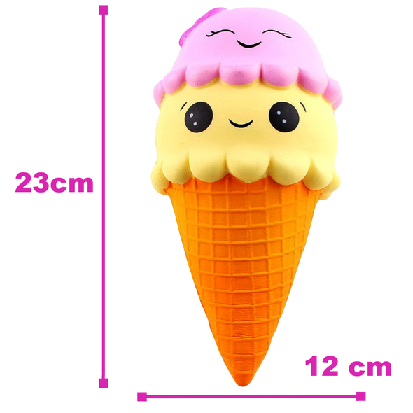 Double Tone Slow Rising Kawaii Ice Cream Squishy