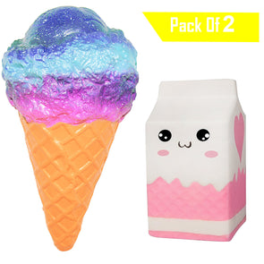 20cm Ice Cream Slow Rising Kawaii Squishy