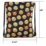 Smiley Emoticon Unisex Drawstring Bag