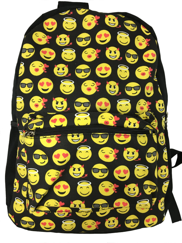 Women's Emoticon Travel Backpack