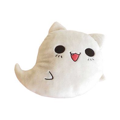 Ghost Cat Stuffed Plush Soft Cushion
