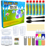 Slime Making Kit DIY Factory Complete Games Set Science Slime Lab Educational Learning Activity Toy