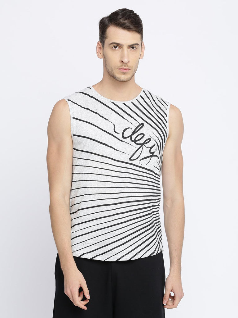 Casual Round Neck Sleeveless Tshirt